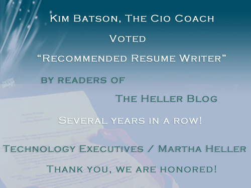 Executive Resume Writing for CIOs and Technology Executives